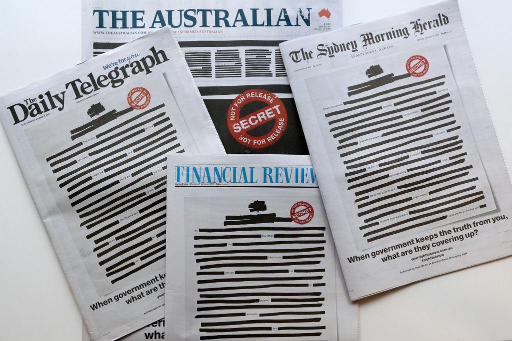 Australia Media Raids