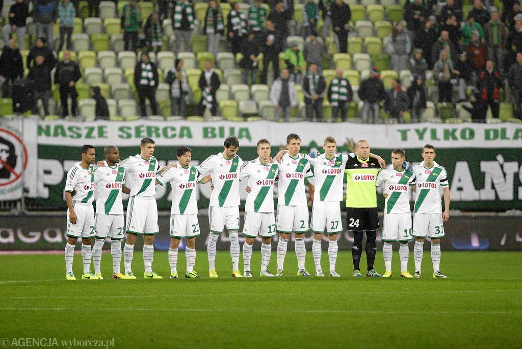 Piłkarze Lechii są o krok od pierwszej