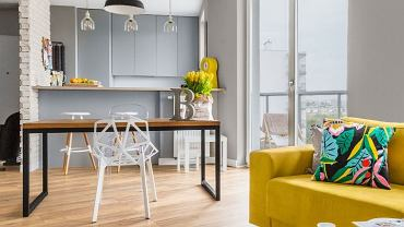 Kolorowy apartament na Żoliborzu