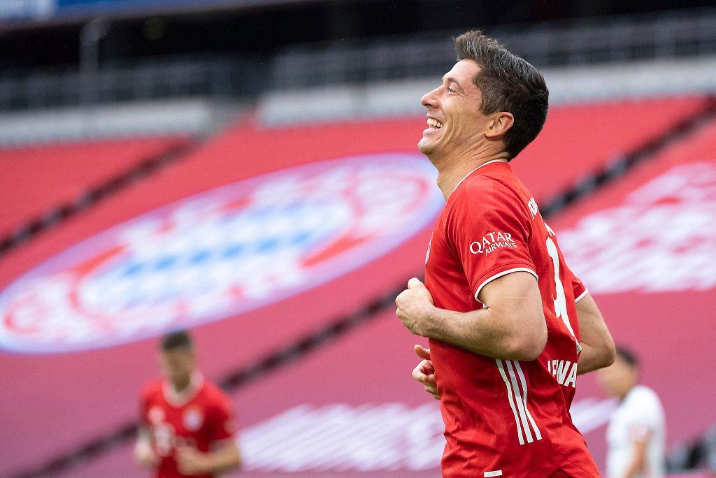 Robert Lewandowski strzela trzy gole, Bayern wygrywa 5:0