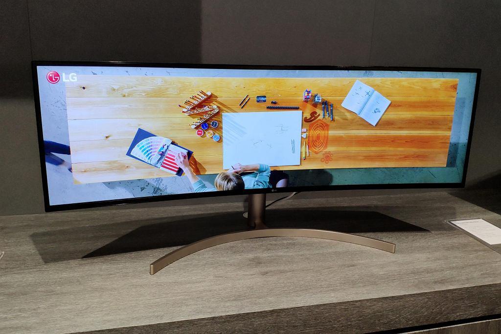Nowa linia ultra szerokokątnych monitorów od LG