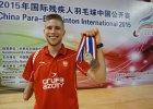 Dwa medale naszego parabadmintonisty w Chinach [ZDJĘCIA]