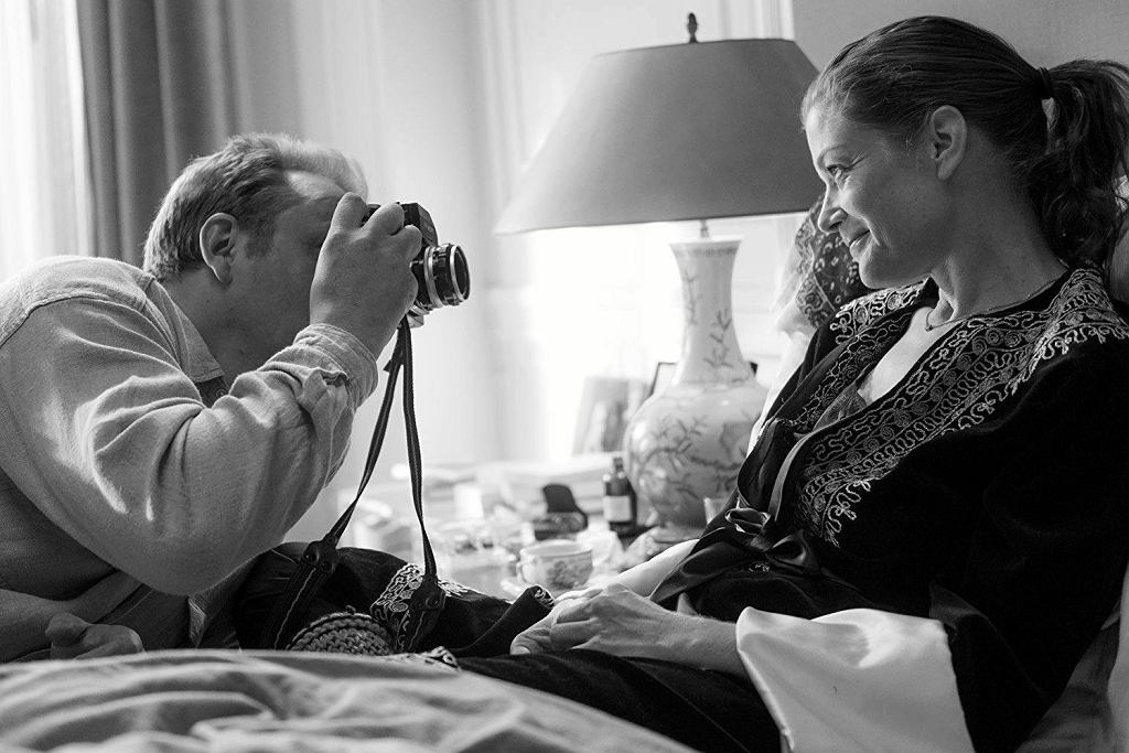 Marie Bäumer jako Romy Schneider w filmie '3 dni w Quiberon' / materiały prasowe