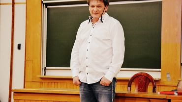 Wykład i spotkanie Piotra Tymochowicza ze studentami w auli SGH