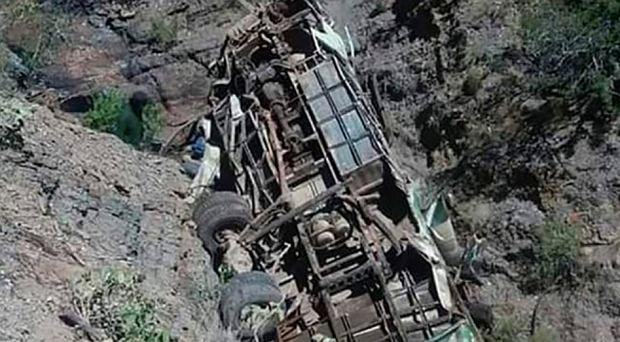 Tragedia w Boliwii. Autokar z drużyną piłkarską spadł z klifu