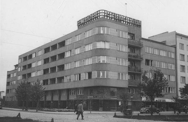 Puławska 28 - dom Wedla, 1937 r.