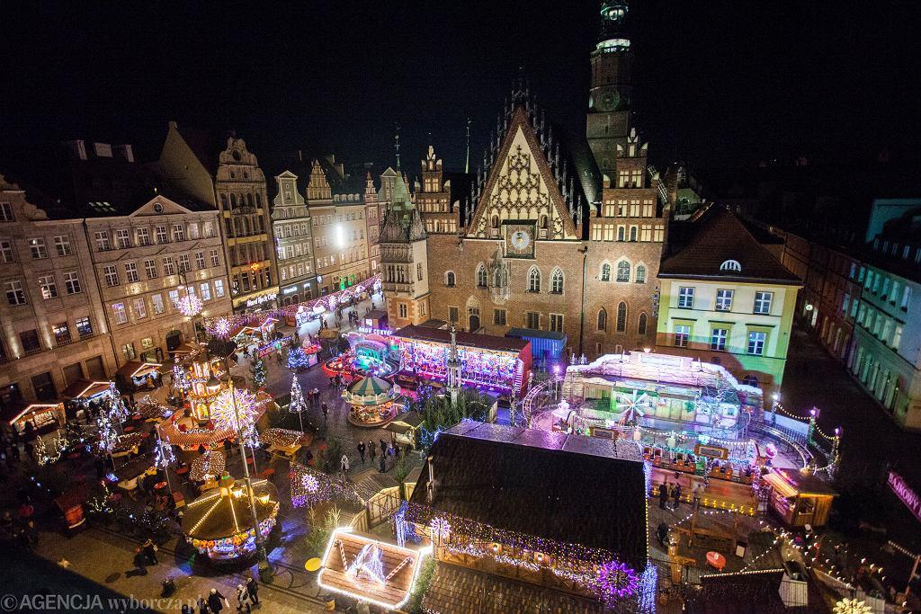 Jarmark Bożonarodzeniowy we Wrocławiu (zdjęcie ilustracyjne)