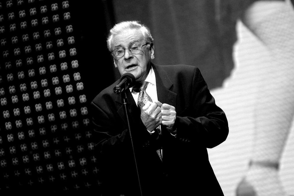 Wiesław Gołas na scenie - Opole 2006