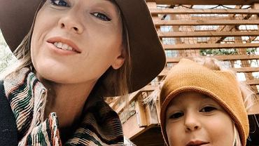 Olga Legosz z córką Tosią