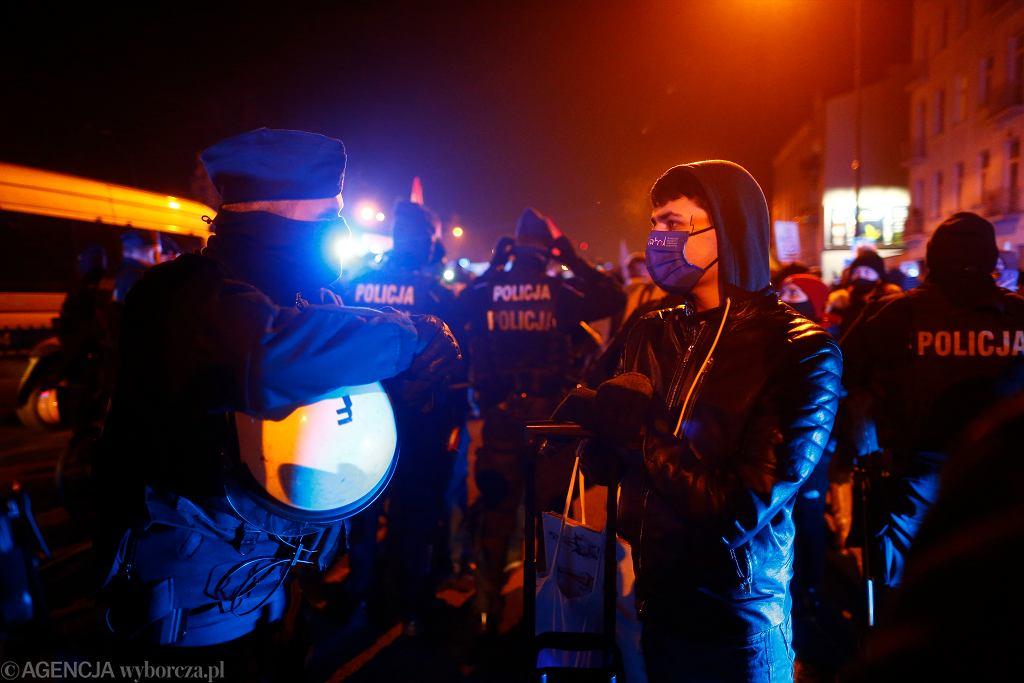 Kolejny dzien protestu kobiet w Lodzi