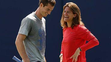 Andy Murray i Amelie Mauresmo