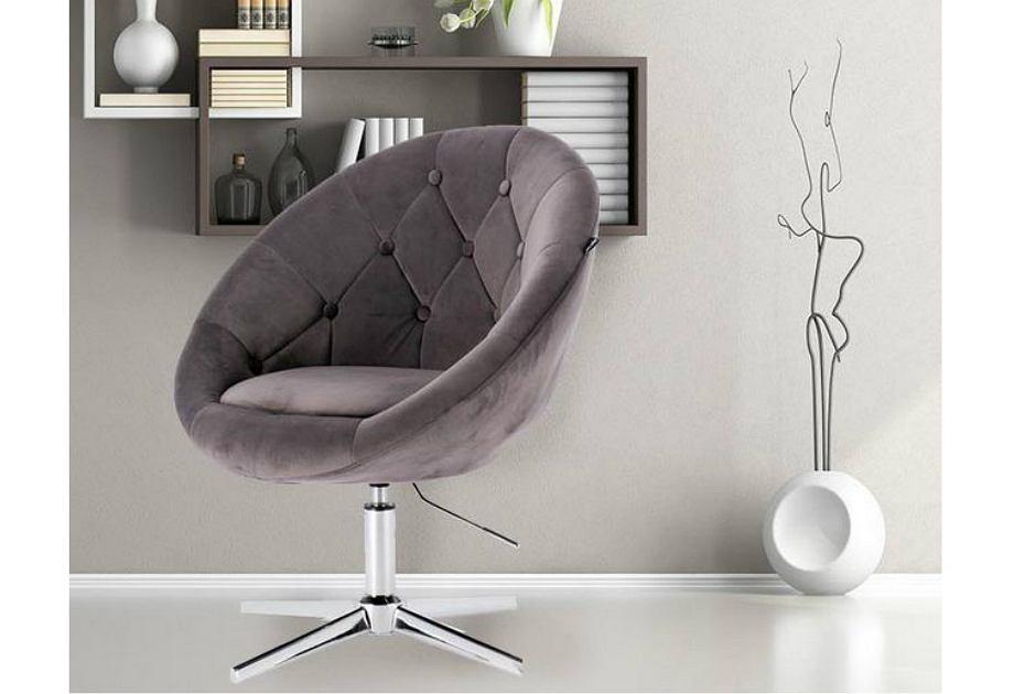 Fotel obrotowy do salonu