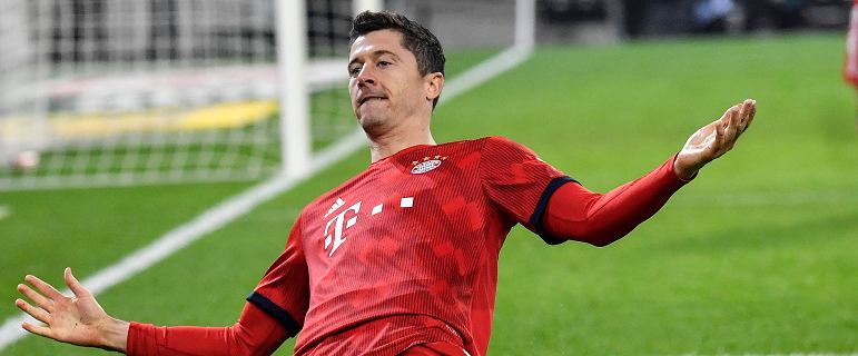 Bundesliga. Bayern Monachium gromi Mainz. Bramka Roberta Lewandowskiego