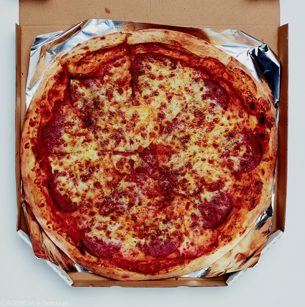 Pizza Pepperoni z Grubego Benka