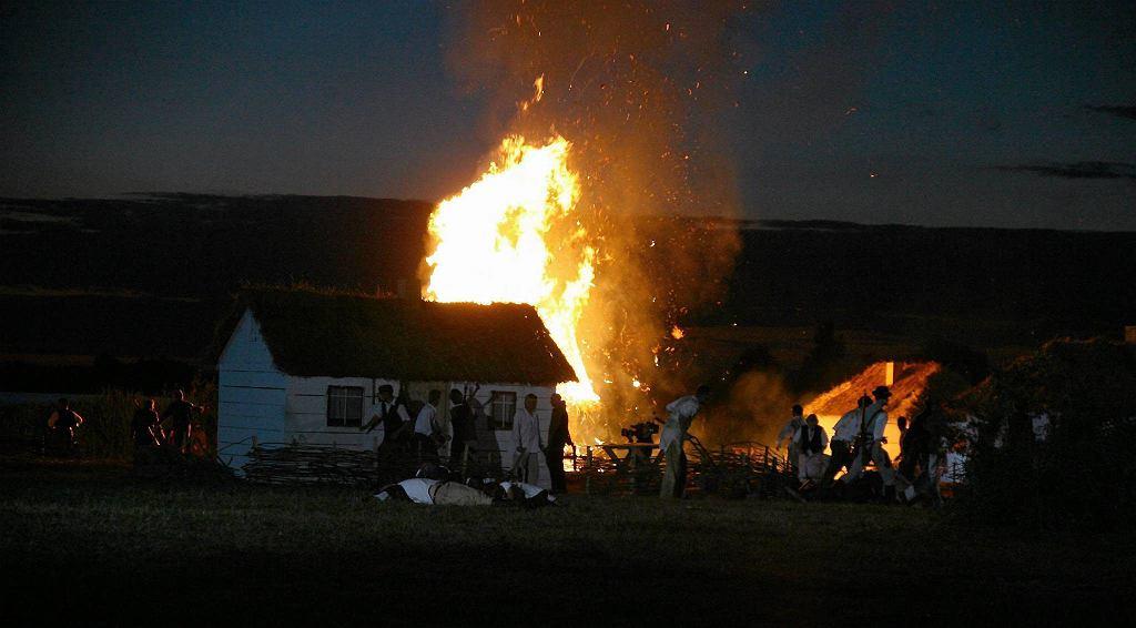 Rekonstrukcja rzezi wołyńskiej. Radymno, czerwiec 2013 rok