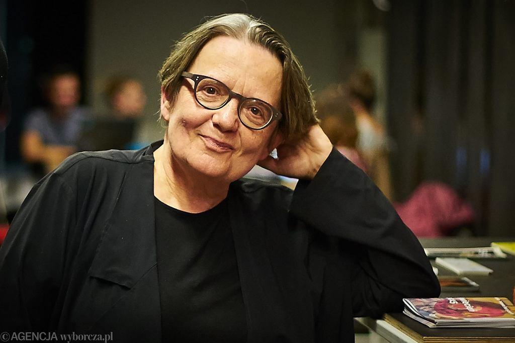Agnieszka Holland  / -Fot. Wojciech Nekanda Trepka / Agencja Gazeta