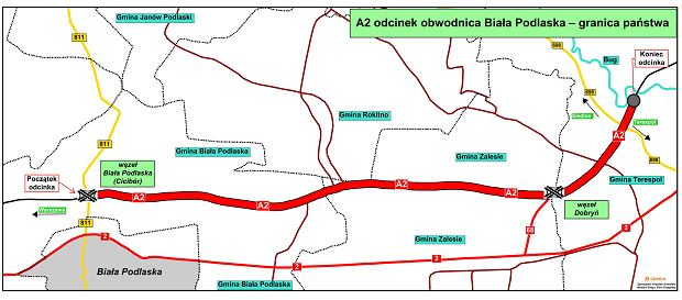 A2 Biała Podlaska - Białoruś