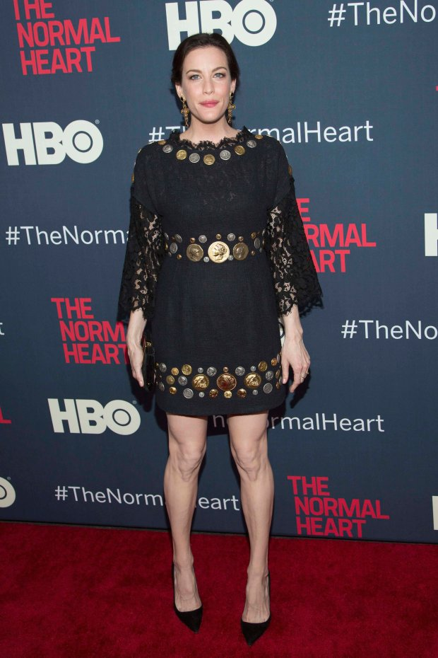 "Actress Liv Tyler attends the premiere of ""The Normal Heart"" in New York May 12, 2014. REUTERS/Andrew Kelly (UNITED STATES - Tags: ENTERTAINMENT)"