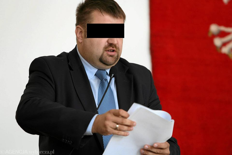 Igor M., były wiceprezydent Radomia skazany za korupcję.