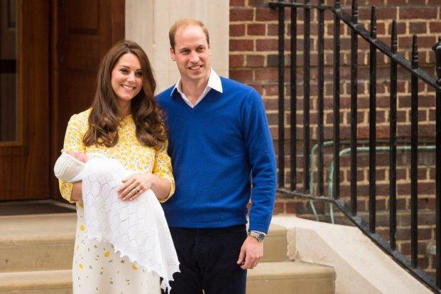 Księżniczka Charlotte, księżna Cambridge, Catherine, książę William