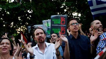 Pablo Iglesias - lider partii Podemos