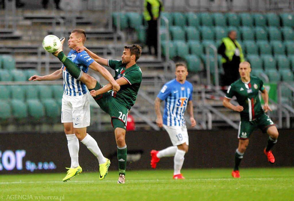 Śląsk Wrocław - Lech Poznań 0:0. Marcin Robak, Nicki Bille