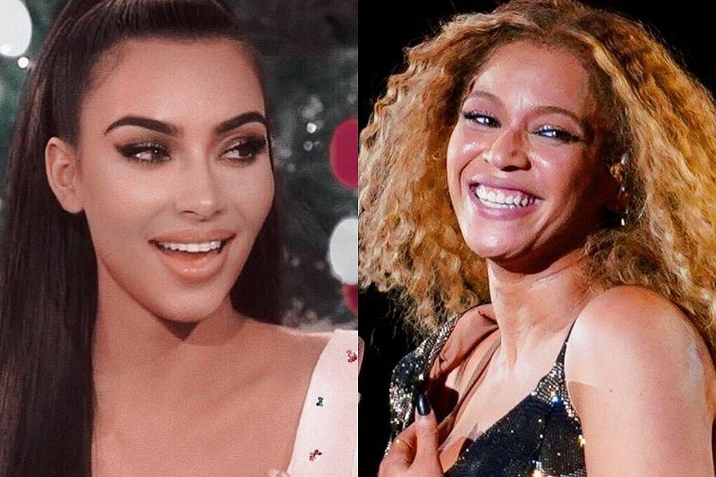 Kim Kardashian i Beyonce