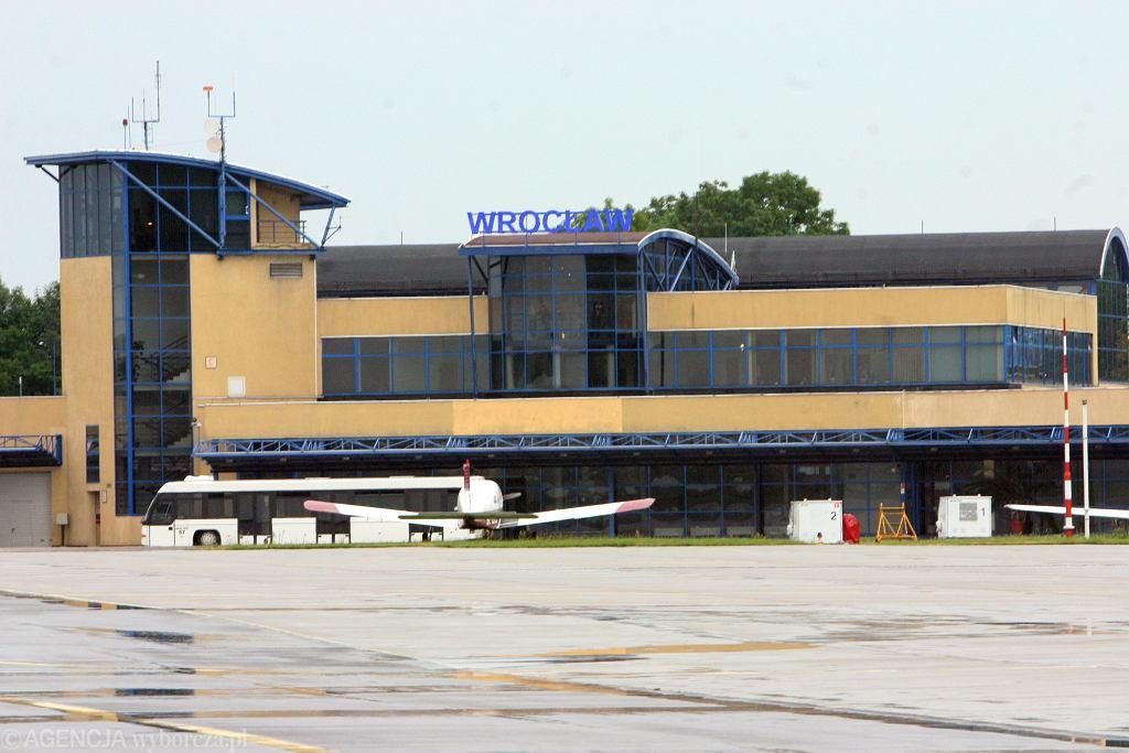 Lotnisko we Wrocławiu (zdjęcie ilustracyjne)