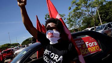 Protesty przeciwko rządom Jaira Bolsonaro