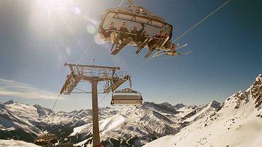Austria. Tyrol, dolina Zillertal. Zdjęcie ilustracyjne