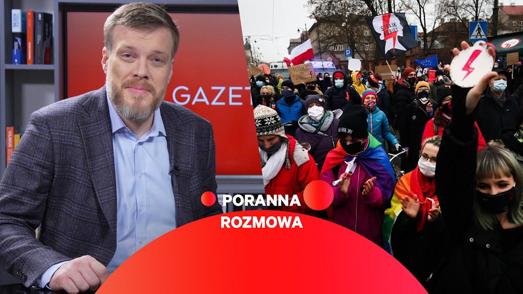 Adrian Zandberg gościem Porannej rozmowy Gazeta.pl