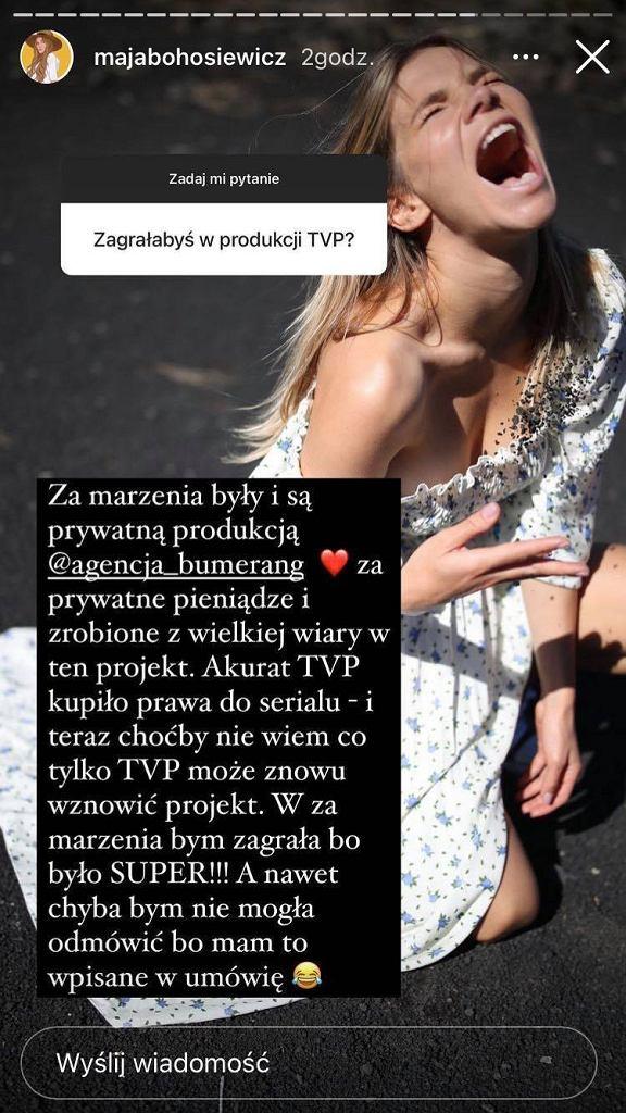 Maja Bohosiewicz odpowiada na pytania fanów