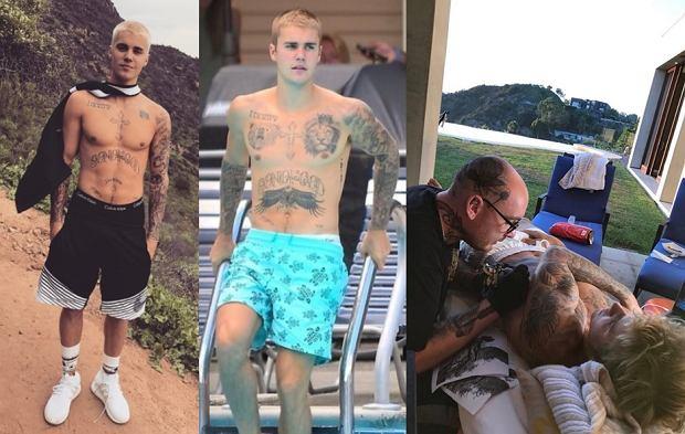 Justin Bieber Wytatuował Cały Tors Internet Oszalał