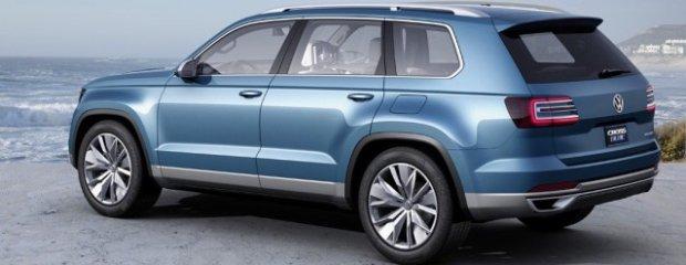 NAIAS Detroit 2013 - Volkswagen CrossBlue Concept