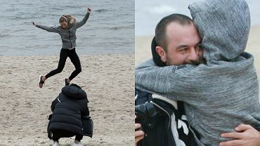 Ewa Chodakowska i Lefteris Kavoukis to jedna z najbardziej zgranych par polskiego show-biznesu. Małżeństwo razem trenuje, wspiera się, a swoim szczęściem często dzieli się w mediach społecznościowych. Ostatnio zakochani wybrali się na krótki wypad nad morze, na którym zachowywali się jak nowożeńcy i chyba nie spodziewali się, że ktoś może ich obserwować. Zajrzyjcie do galerii i przekonajcie się sami!