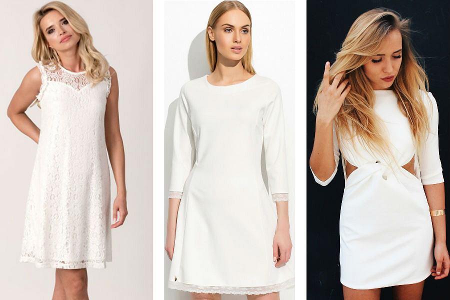 Sukienka Ecru Kreacja Idealna Na Wiele Okazji