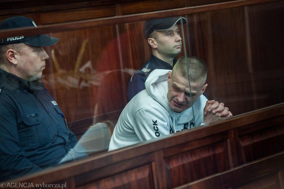 Tomasz Komenda, gdy sąd zdecydował, że może wyjść na wolność