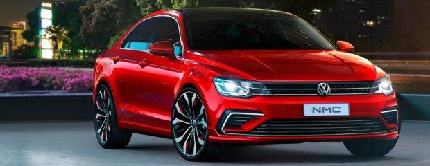 Salon Pekin 2014 | VW New Midsize Coupe Concept | Jetta CC