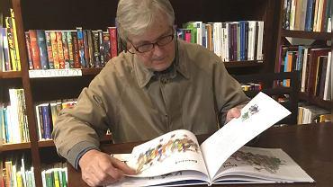 Geoffroy de Pennart podczas Targów Książki w Krakowie
