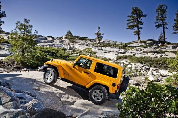 Salon Los Angeles 2012   Jeep Wrangler Rubicon