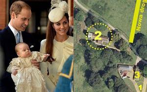 Księżna Kate, książę William, książę George, Anmer Hall