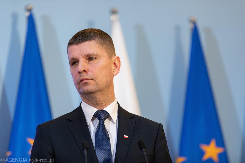 Minister edukacji narodowej Dariusz Piontkowski.