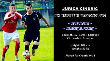 Jurica Cindrić, nowy piłkarz Lecha Poznań