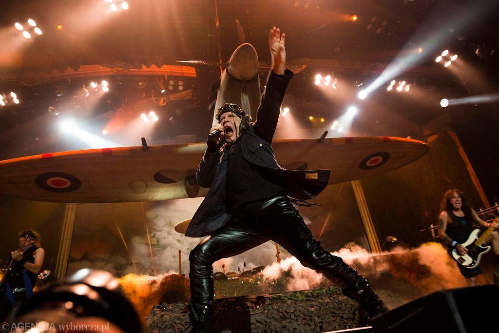 Iron Maiden - koncert w Tauron Arenie Kraków
