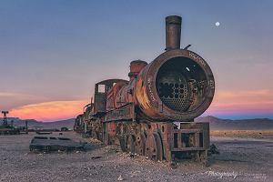 Cmentarzysko pociągów w Boliwii. To tutaj lokomotywy kończą swój żywot