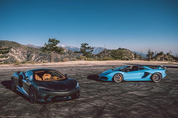 McLaren GT i Lamborghini Aventador SVJ Roadster