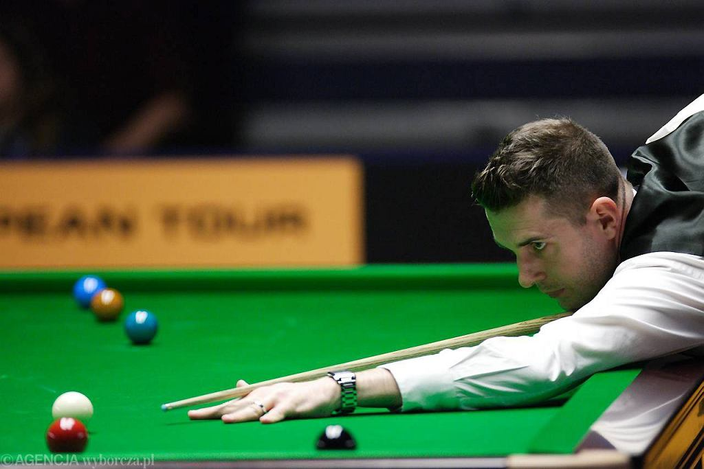 Mark Selby podczas Gdynia Open 2012