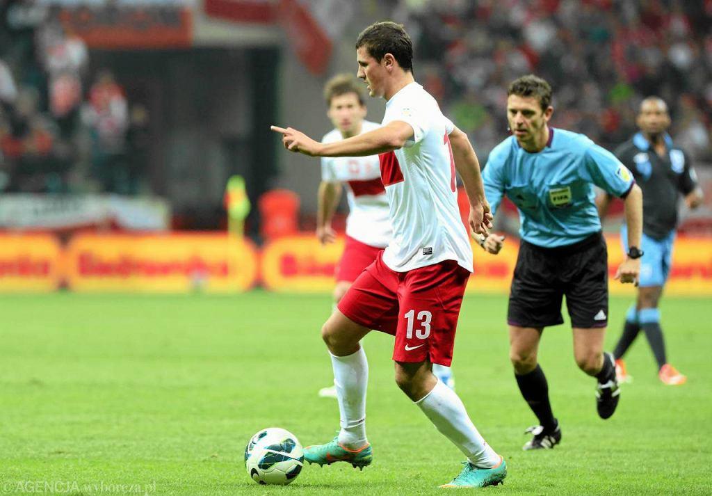 Paweł Wszołek przeciwko Anglikom