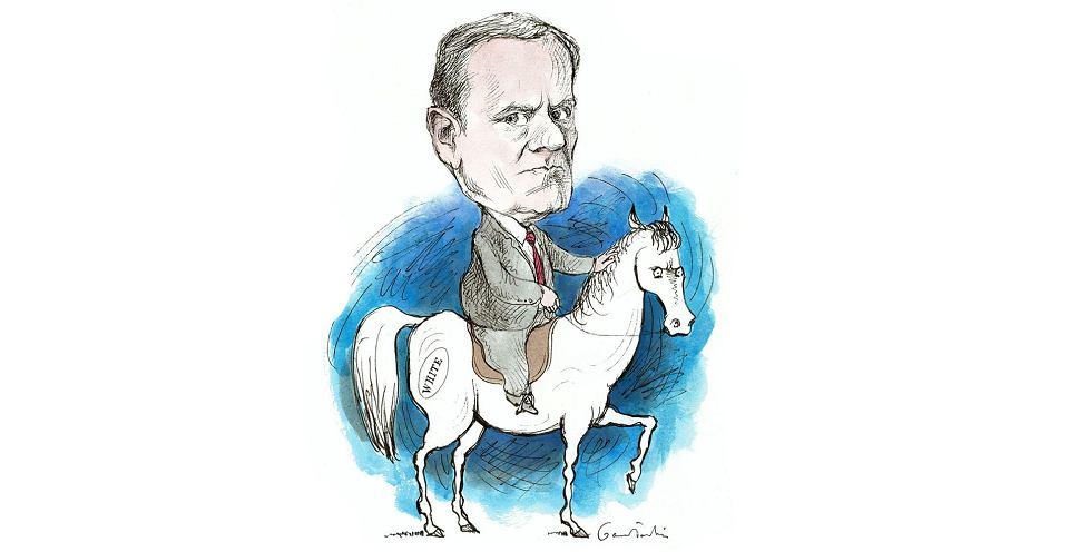 Czy Donald Tusk wróci do Polski na białym koniu?