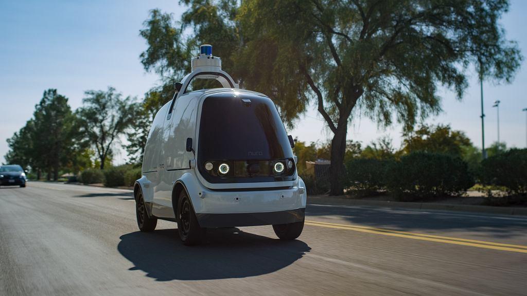 Samochód autonomiczny Nuro R2